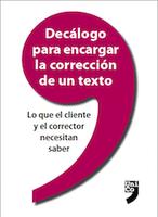 Decálogo corrección