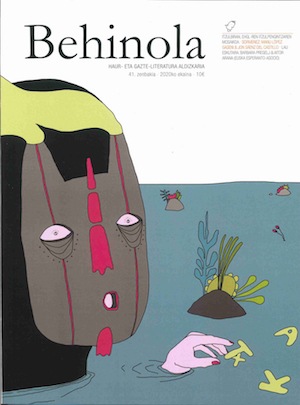 'Behinola' aldizkariaren zenbaki berria, itzulpenari eskainia
