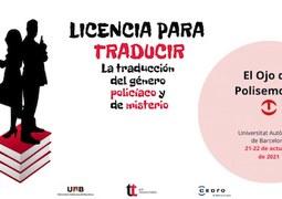 El ojo de Polisemo, Bartzelonan: 'Licencia para traducir. La traducción del género policíaco y de misterio'