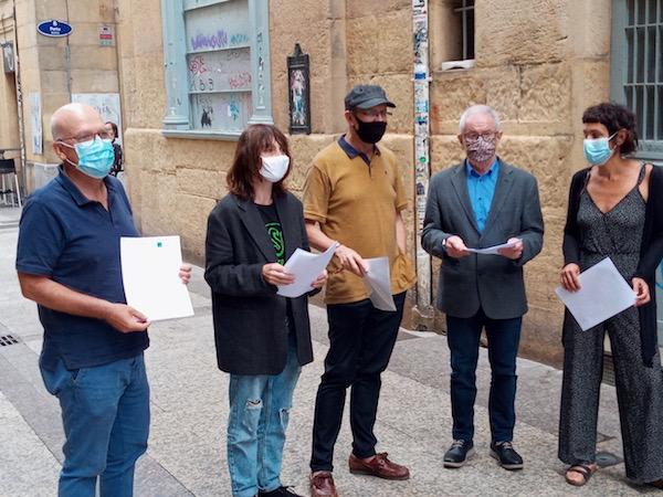 Euskal liburuaren sektorea ere ataka larrian