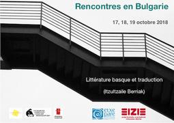 Rencontres en Bulgarie (littérature basque et traduction)
